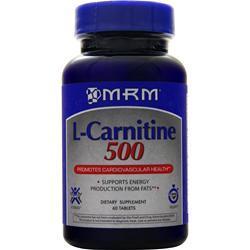 MRM L-Carnitine 500 60 tabs