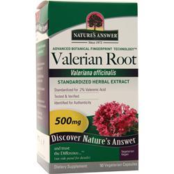 Nature's Answer Valerian Root Extract 90 vcaps