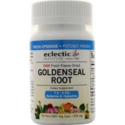Eclectic Institute Fresh Freeze-Dried Goldenseal Root 50 vcaps