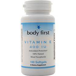 Body First Vitamin E (400IU) 100 sgels
