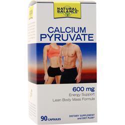 Natural Balance Calcium Pyruvate (500mg) 90 caps