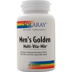 Solaray Men's Golden Multi-Vita-Min 90 caps