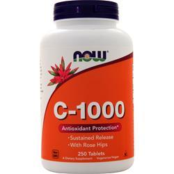 Now C-1000 Sustained Released with Rose Hips 250 tabs