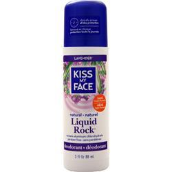 Kiss My Face Liquid Rock Deodorant Lavendar 3 fl.oz