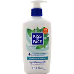 Kiss My Face Moisture Shave Cool Mint 11 fl.oz