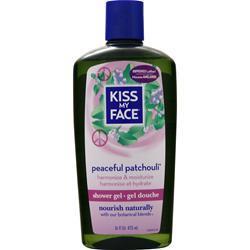 Kiss My Face Bath and Shower Gel Peaceful Patchouli 16 fl.oz