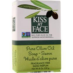Kiss My Face Olive Oil Bar Soap Pure Olive Oil 8 oz