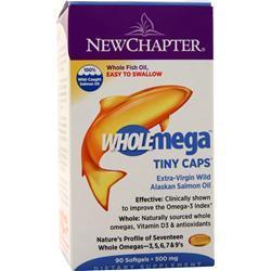 New Chapter WholeMega (500mg) 90 sgels