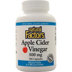 Natural Factors Apple Cider Vinegar (500mg) 180 caps