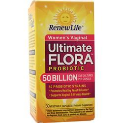 Renew Life Ultimate Flora - Vaginal Support  50 Billion 30 vcaps