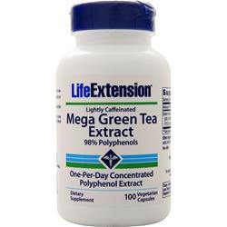 Life Extension Mega Green Tea Extract (Lightly Caffeinated) 100 vcaps