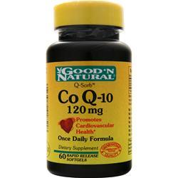Good 'N Natural Co Q-10 (120mg) 60 sgels