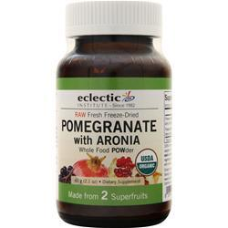 Eclectic Institute Fresh freeze-dried Pomegranate with Aronia Powder 60 grams