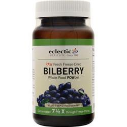 Eclectic Institute Fresh freeze-dried Bilberry POW-der 90 grams