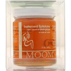 Moom Hair Remover with Tea Tree Oil Refill Jar 12 oz