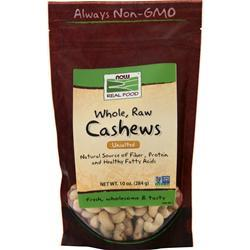 Now Whole, Raw Cashews  BEST BY 5/17 10 oz