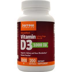 Jarrow Vitamin D3 (1000IU) 200 sgels