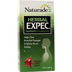 Naturade Herbal Expec - Herbal Expectorant Natural Cherry 8.8 fl.oz
