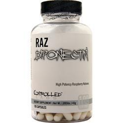Controlled Labs RAZdiponectin - High Potency Raspberry Ketones  EXPIRES 5/17 100 caps