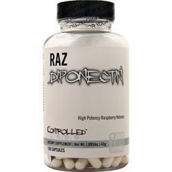 Controlled Labs RAZdiponectin - High Potency Raspberry Ketones  EXPIRES 5/17 100 caps
