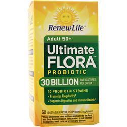 Renew Life Ultimate Flora - Senior Formula 30 Billion 60 vcaps