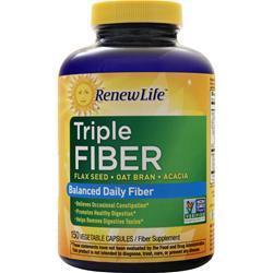 Renew Life Triple Fiber 150 vcaps