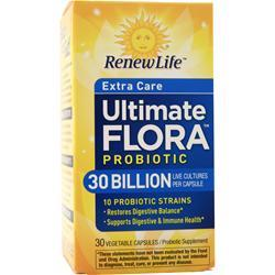 Renew Life Ultimate Flora - Extra Care Probiotic 30 Billion 30 vcaps