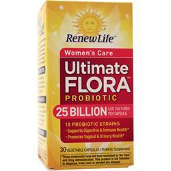 Renew Life Ultimate Flora Women's Care Probiotic 25 Billion 30 vcaps