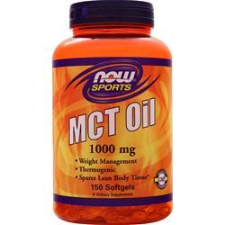 Now MCT Oil 150 sgels