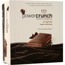 Power Crunch Power Crunch Wafers Triple Chocolate 12 bars