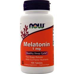 Now Melatonin (1mg) 100 tabs