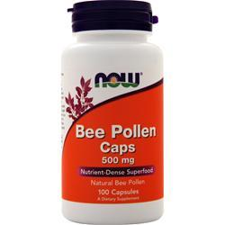 Now Bee Pollen Caps (500mg) 100 caps