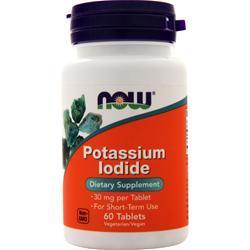 Now Potassium Iodide (30mg) 60 tabs