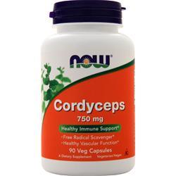 Now Cordyceps (750mg) 90 vcaps