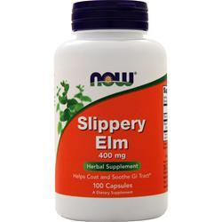 Now Slippery Elm (400mg) 100 caps