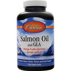 Carlson Norwegian Salmon Oil and GLA 120 sgels