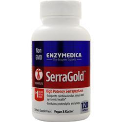 Enzymedica SerraGold 120 caps