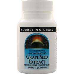 Source Naturals Grape Seed Extract (100mg) 30 tabs