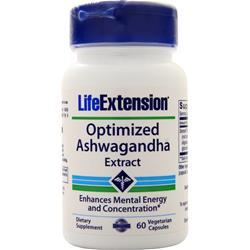 Life Extension Ashwagandha Extract - Optimized (125mg) 60 vcaps