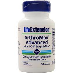 Life Extension ArthroMax Advanced with UC-II and ApresFlex 60 caps