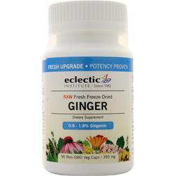 Eclectic Institute Fresh Freeze-Dried Ginger 90 vcaps