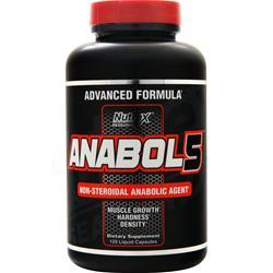 Nutrex Research Anabol 5 120 lcaps