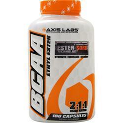 Axis Labs BCAA Ethyl Ester  EXPIRES 4/17 180 caps
