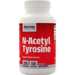 Jarrow N-Acetyl Tyrosine (350mg) 120 caps