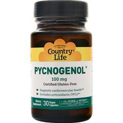 Country Life Pycnogenol (100mg) 30 vcaps