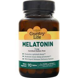 Country Life Melatonin (3mg) 90 tabs