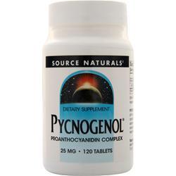 Source Naturals Pycnogenol (25mg) 120 tabs