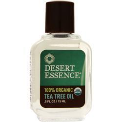 Desert Essence Organic Tea Tree Oil .5 fl.oz