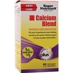 Super Nutrition Calcium Blend 90 tabs