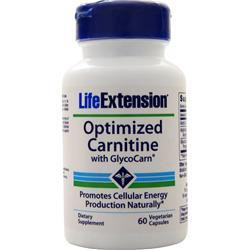 Life Extension Optimized Carnitine with GlycoCarn 60 vcaps